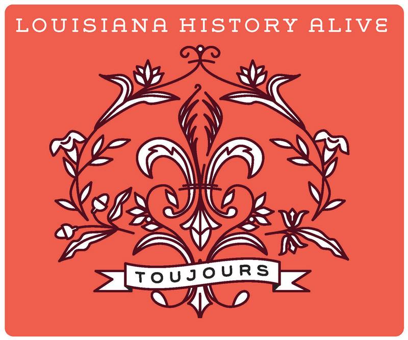 Louisiana History Alive logo