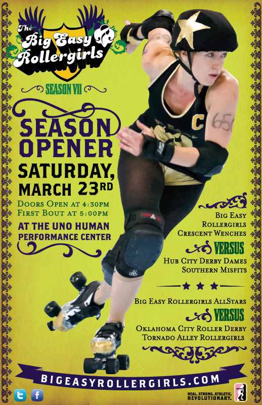 Big Easy Rollergirls Season VII