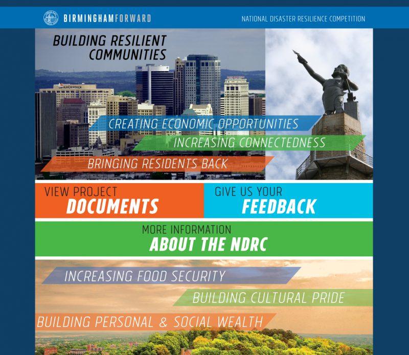 Birmingham NDRC website