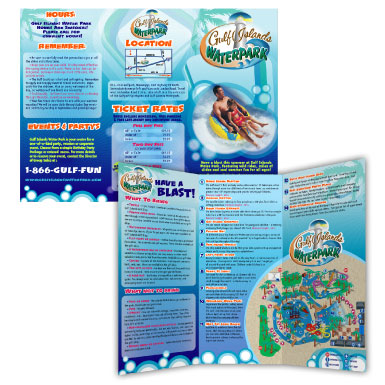 gulf-islands-waterpark-guide-brochure--map-illustration_3314115107_o