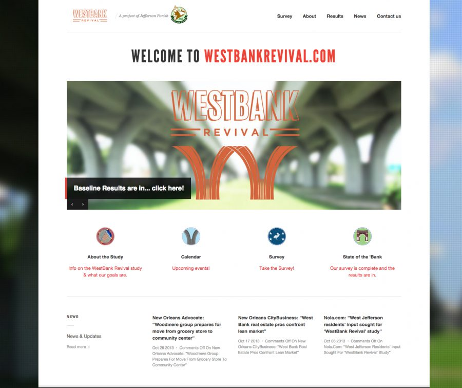 Westbank Revival site